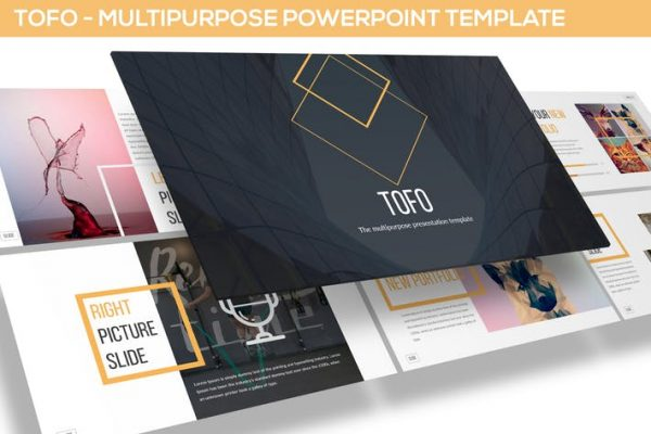 Tofo - Multipurpose Powerpoint Template