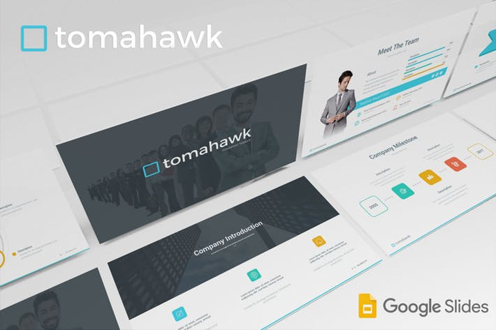 Tomahawk - Google Slides Template