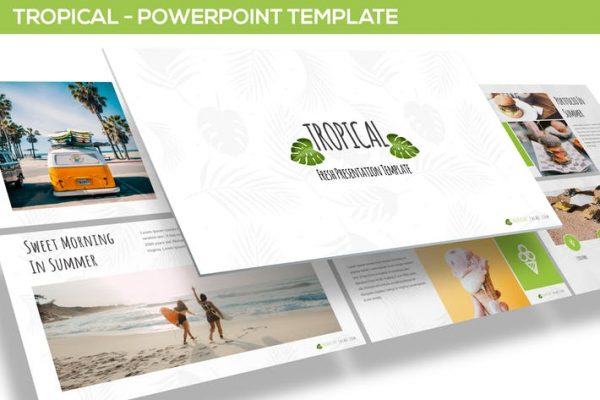 Tropical - Powerpoint Template