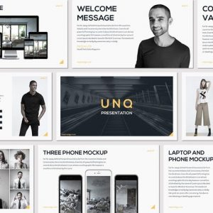 UNQ - Google Slides Template