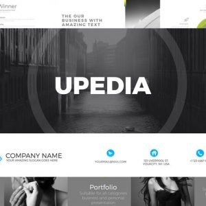 UPEDIA Powerpoint Template