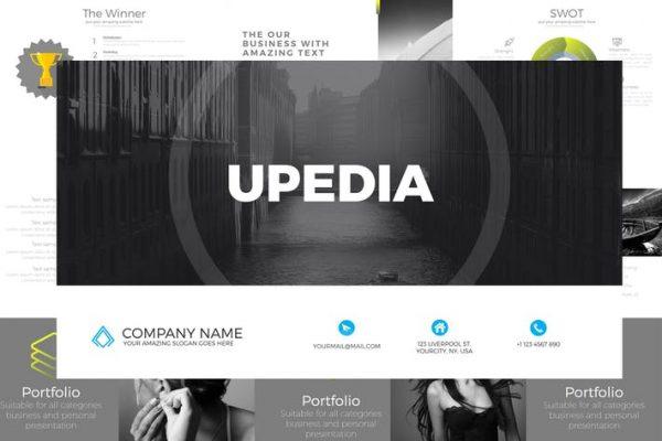 UPEDIA Powerpoint Template