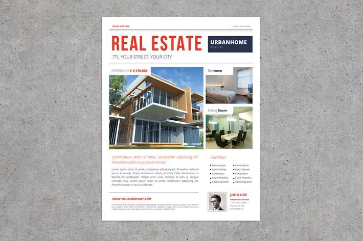 Urban Real Estate Flyer