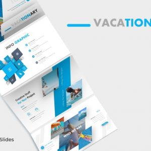 Vacationary - Google Slide Template