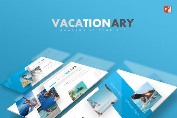 Vacationary - Powerpoint Template