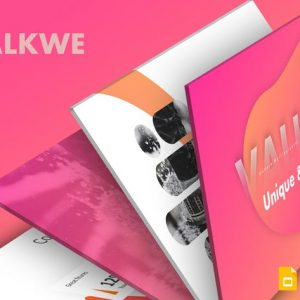 Valkwe Creative - Google Slide Template