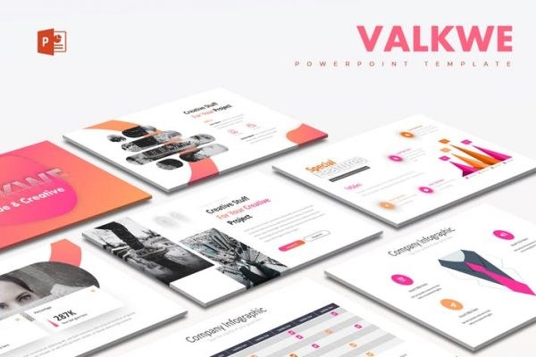 Valkwe Creative - Powerpoint Template