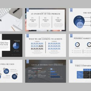 Vegapunk : Pitch Deck Powerpoint Template