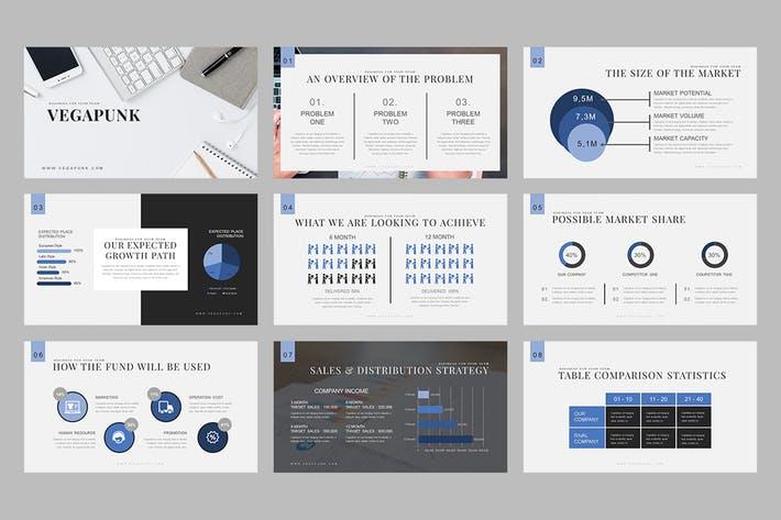 Vegapunk : Pitch Deck Powerpoint Template