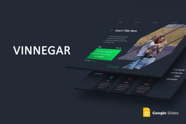 Vinnegar - Google Slides Template