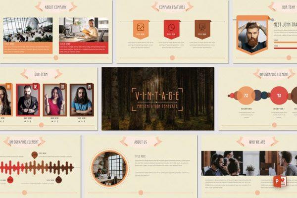 VINTAGE - Powerpoint Template