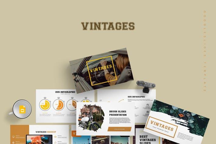 Vintages - Google Slide Template