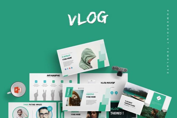 Vlog - Powerpoint Template