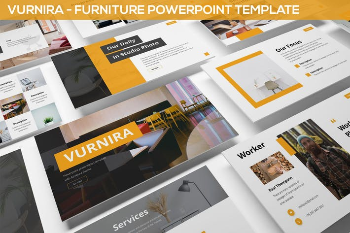 Vurnira - Furniture Powerpoint Template