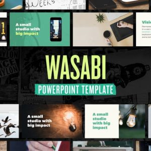Wasabi — Powerpoint Presentation Template