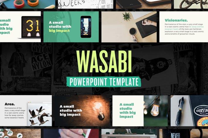 Wasabi — Powerpoint Presentation Template
