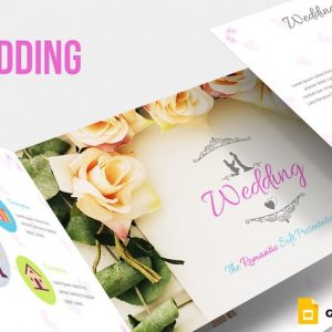 Wedding Google Slides Template