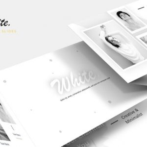 White - Google Slides Template