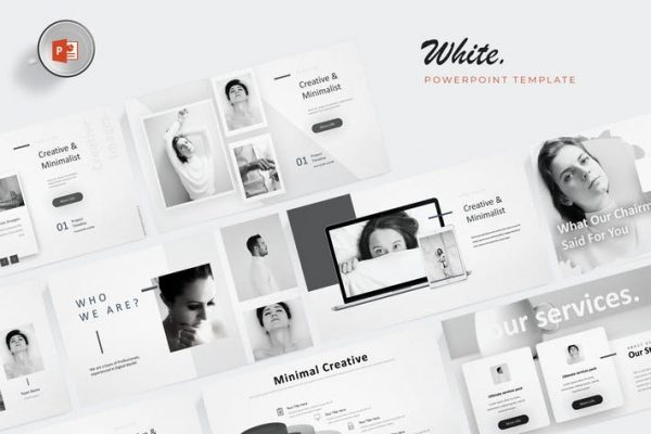 White - Powerpoint Template