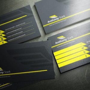 Wing Business Card Design