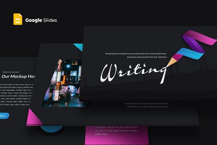 Writing - Google Slides Template