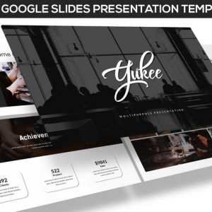 Yukee - Multipurpose Google Slides Template