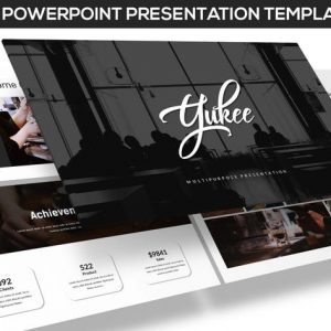 Yukee - Multipurpose Powerpoint Template