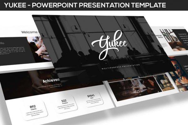 Yukee - Multipurpose Powerpoint Template