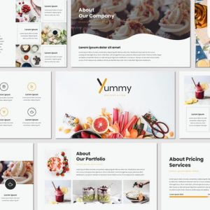Yummy - Google Slides Template