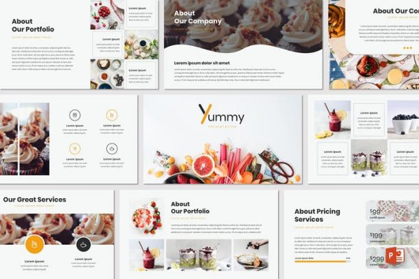 Yummy - Powerpoint Template