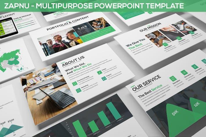 Zapnu - Multipurpose Powerpoint Template
