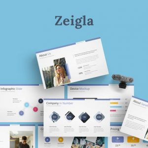 Zeigla - Google Slides Template