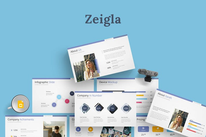 Zeigla - Google Slides Template