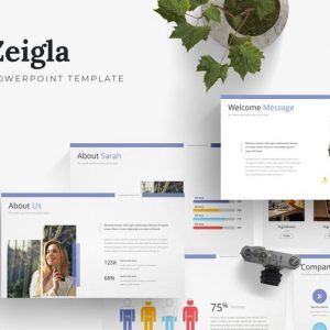 Zeigla - Powerpoint Template