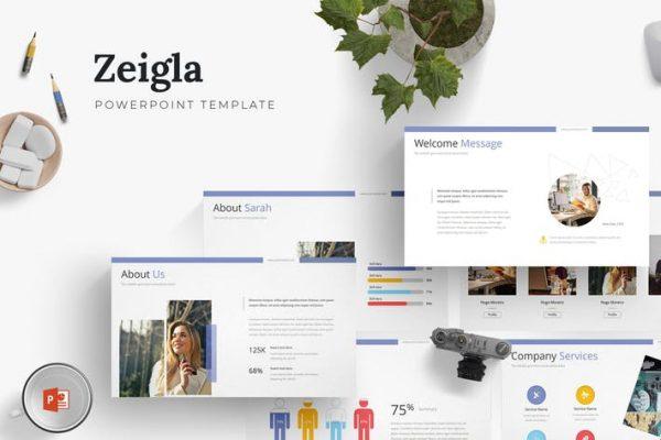 Zeigla - Powerpoint Template