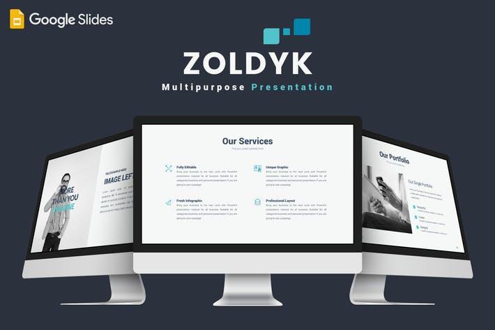 Zoldyk - Google Slides Template