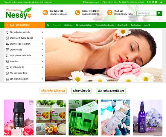 Website nhà thuốc - mỹ phẩm