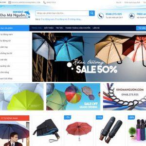 Website bán ô dù online