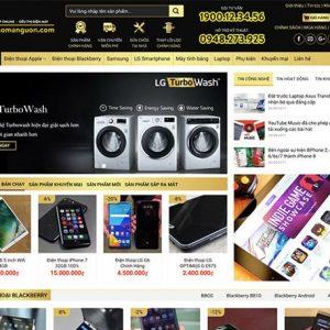 Website siêu thị điện máy - điện thoại