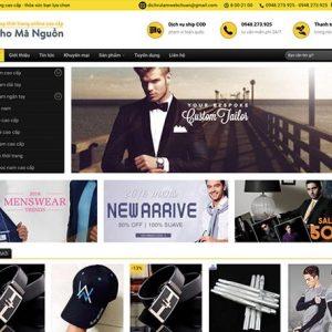 Website shop thời trang online