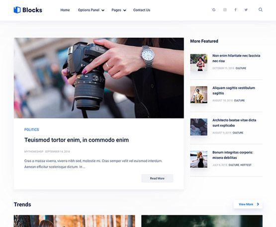 Blocks – MyThemeShop