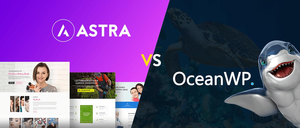 So sánh - Đánh giá Astra và OceanWP