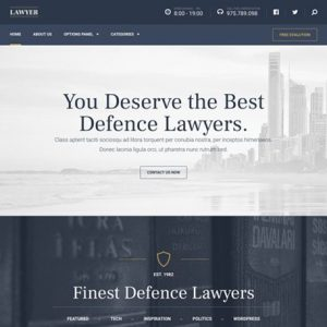 Lawyer – MyThemeShop
