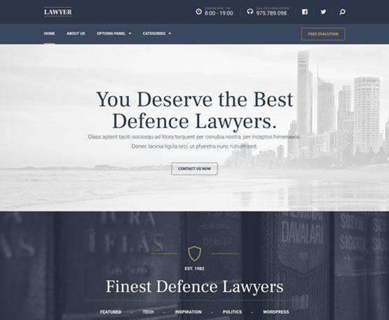 Lawyer – MyThemeShop