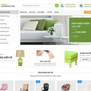 Website bán đồ nội thất online