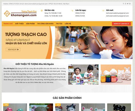 Website bán tượng thạch cao