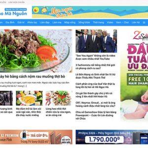 Website tin tức online