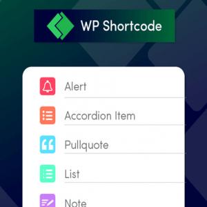 WP Shortcode Pro - MyThemeShop