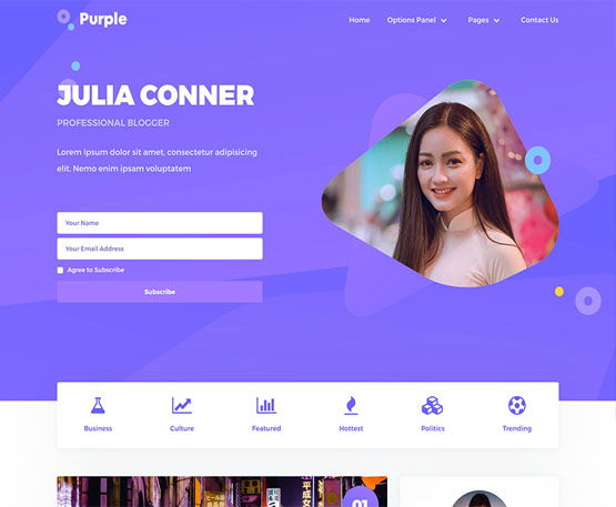 Purple – MyThemeShop