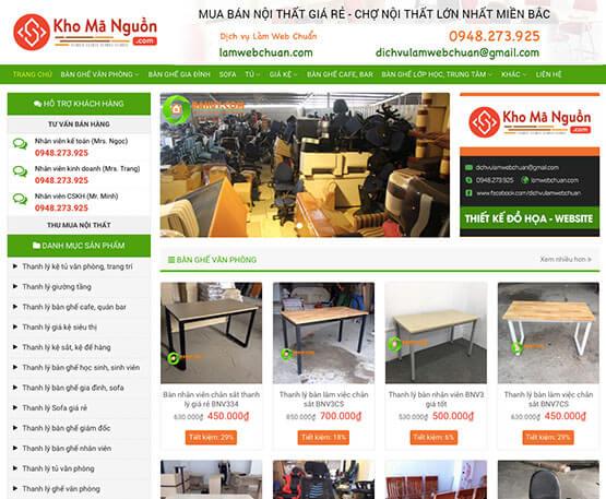 website Bán đồ cũ online